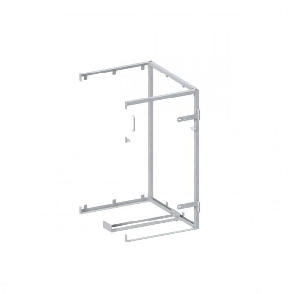 Anbaugestell Mülltonnen Box System Binto