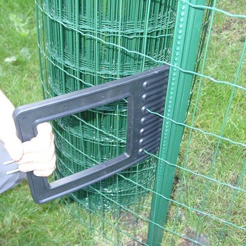 Pantanet Zaun aufbauen und spannen