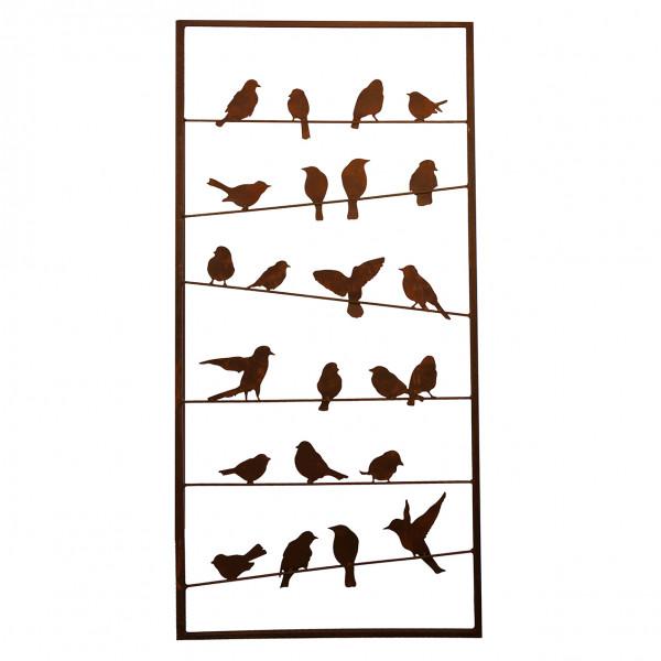 Rost Paravent 0900 x 1900 mm BIRD