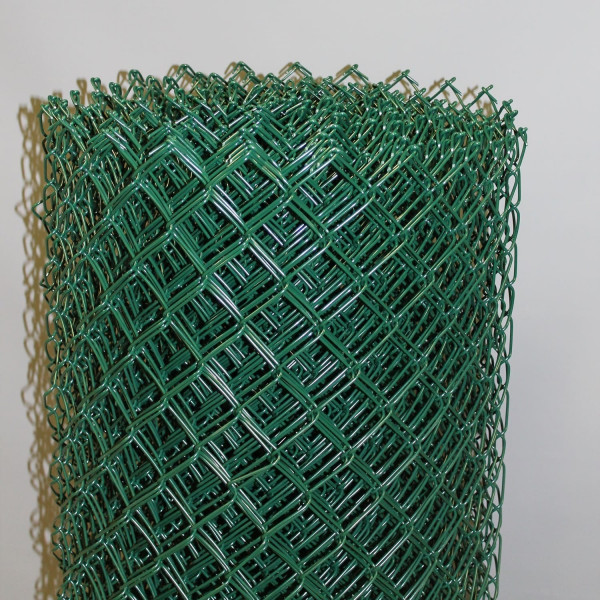 Maschendrahtzaun grün Geflecht 40x2,8 mm