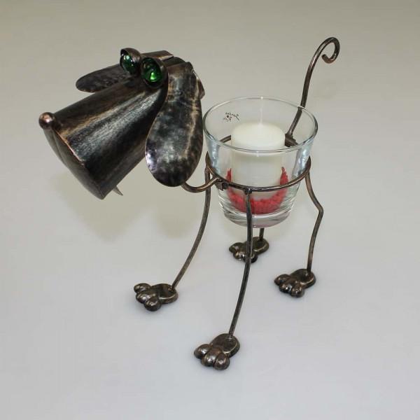 Windlicht Modell Hund