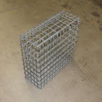 Gabionenkorb fertig verschweißt 55x54x21 cm