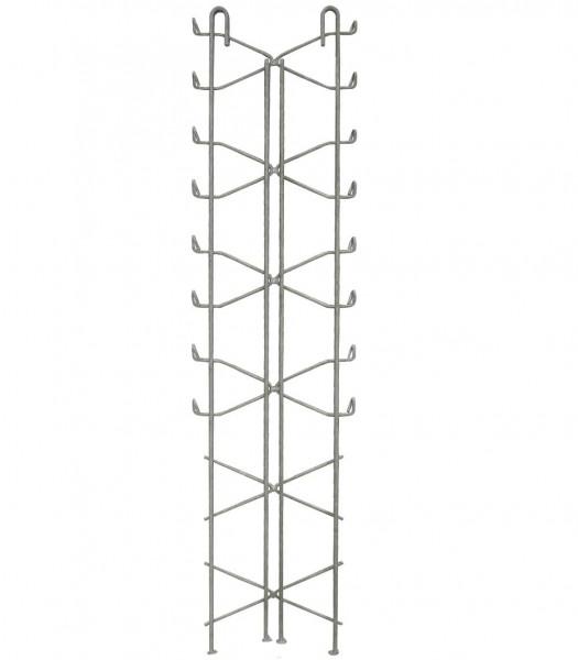 Legi Drahtpfosten RP.D fit D 250 mm für Steinzaun 200 cm - Mitte