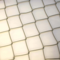 Maschendrahtzaun grau 1000 mm, Masche 50x2,8 mm