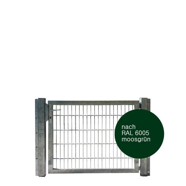 Gartentor 125 x 100 cm Industriequalität in grün