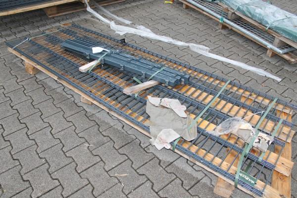 Gitterzaun Verlängerung 830 mm HS anthrazit SET 5 m