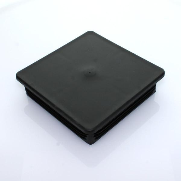 Abdeckkappe PVC 120x120 einsteckbar schwarz
