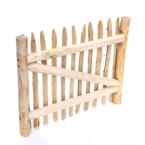 Kastanientor mit Beschlägen ohne Tor