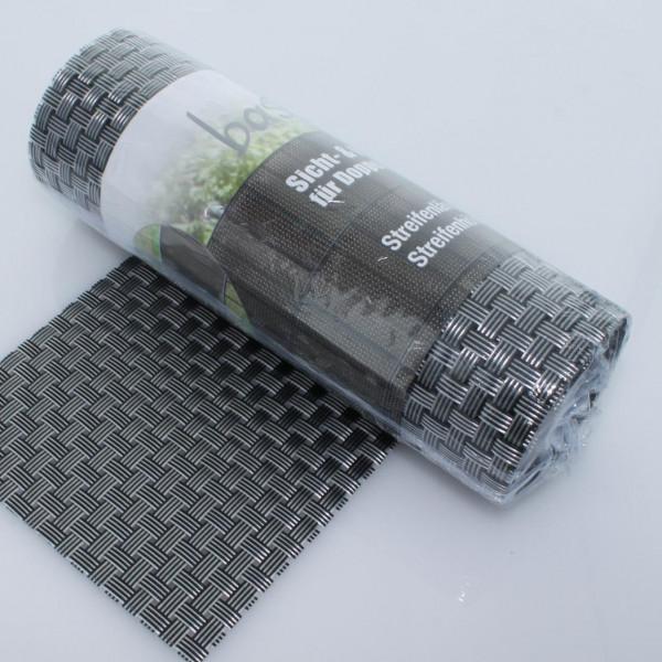 Sichtschutz bastline silber 190 x 2560 mm