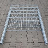 Zaungabione 1200 x 1100 x 165 mm mit Haltepfosten - leicht beschädigt