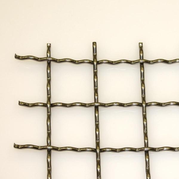 Wellengitter Edelstahl 1.4301 50 x 50 x 5,0 mm