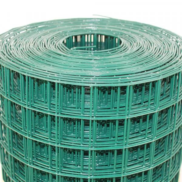 Gitter für Greifvogel Voliere in grün 50,8 x 50,8 mm