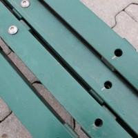 Pfosten 2430 mm - HS grün 4er Set