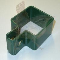 RESTPOSTEN 050x050 mm Schelle grün, 1-tlg ABVERKAUFT