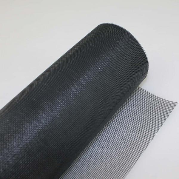 Fiberglas Insektenschutz als Meterware in schwarz