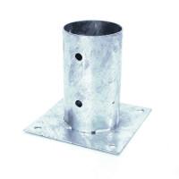 Aufschraubplatte für Rundholzpfosten Ø 100 mm