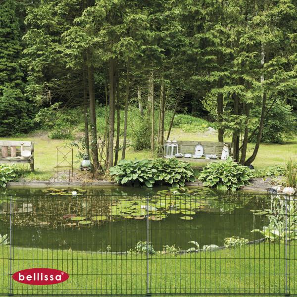 Steckzaun 1160 x 800 mm grün