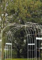 Pavillon 2300x2300 mm, 5 Seitenteile grün
