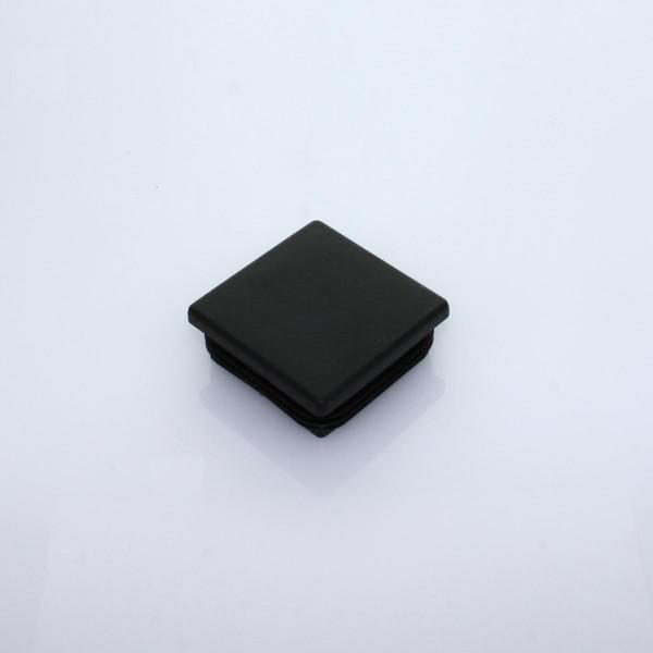 Abdeckkappe 60 x 60 mm schwarz Kunststoff