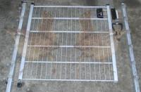 Gartentor 1-flgl. 1500x1610 mm verzinkt, Typ 1
