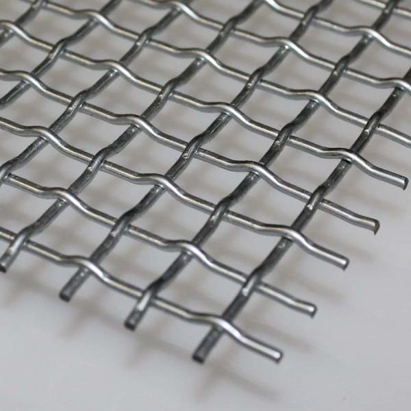 Stanzgitter, Pressgitter aus verzinktem Stahl