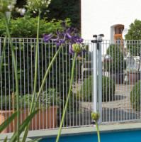 DINO Pool, Gitter 1200 x 1926 mm, weiß(9016)