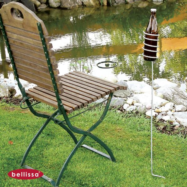 Bierflaschenhalter Garten