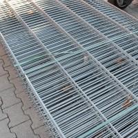 Flachstabmatten 1230 mm alte Ausführung verzinkt - gebraucht
