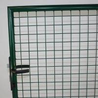 Gartentor 1000 x 1250 mm phosphatiert grün