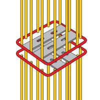 Ranko® Ranksäule rechteckig - T-Stoßverbindung beschichtet