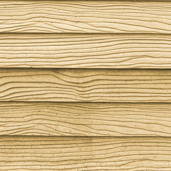 Betonzaun Mediterran - Waldholz Platte farbig