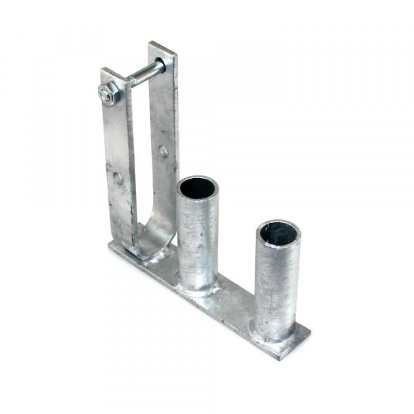 Tür-Drehgelenk für Bauzaunmatten Mobilzaunmatten