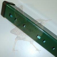 Forsto Pfostenprofil 1727 x 50 x 1,20 mm grün RAL 6005