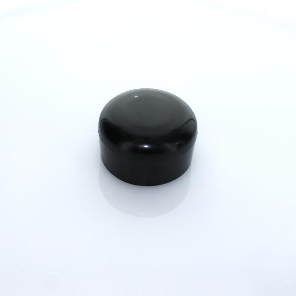 Abdeckkappe schwarz 59 PVC