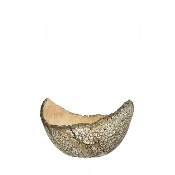 Pflanzschale aus Keramik Durchmesser 290 mm flach