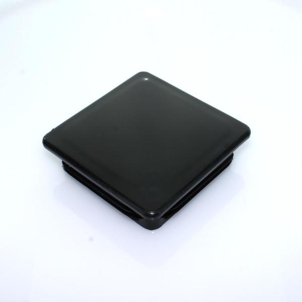 Abdeckkappe PVC 100x100 einsteckbar schwarz