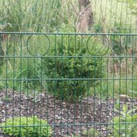DINO Höhe 0750mm, Gittermatte Decor Circle, grün