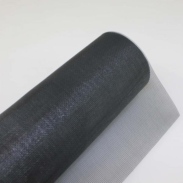 Fiberglas Fliegengitter in schwarz