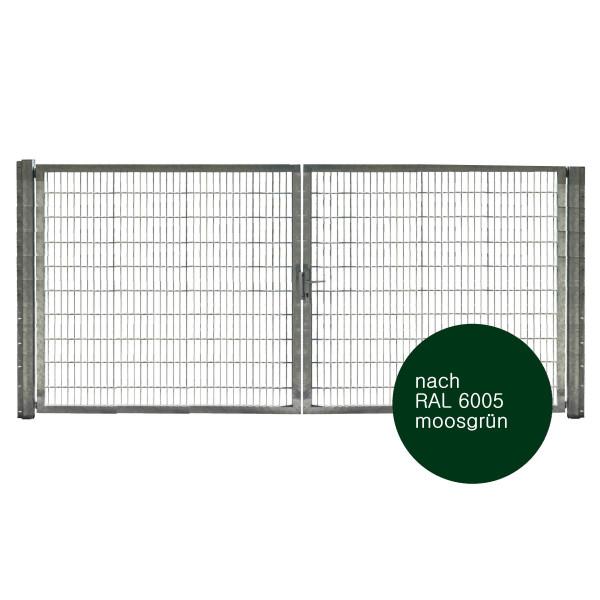 Zufahrtstor für Einfahrtsbreite von 4.0 Meter
