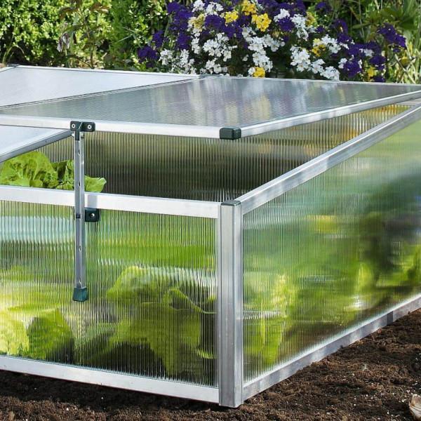Frühbeet Hochgarten Aufsatz bauen