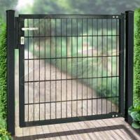 Gartentor 1-flgl. 1500x0800 mm grün, MS