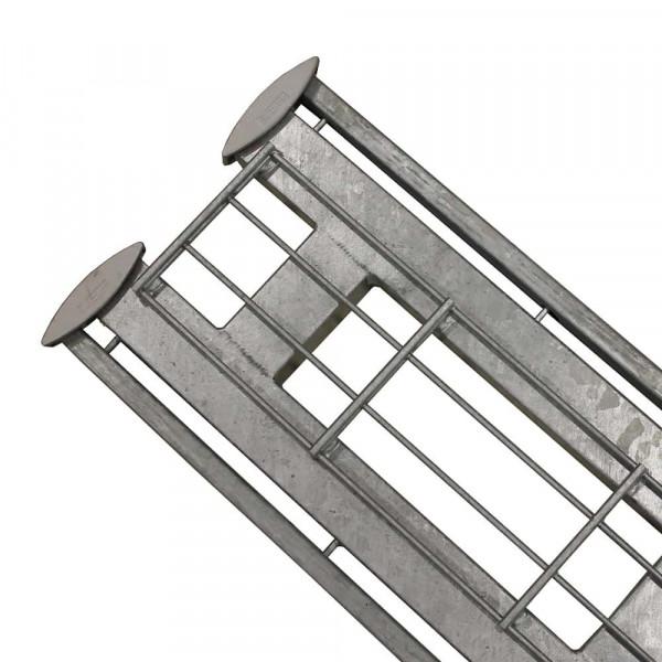Legi Endpfosten REP.D fit R+K 250 mm  - für Steinzaun 200 cm
