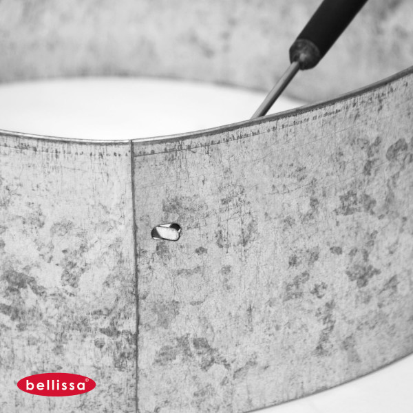 Rasenkante Ring Kreis Metall 200 mm