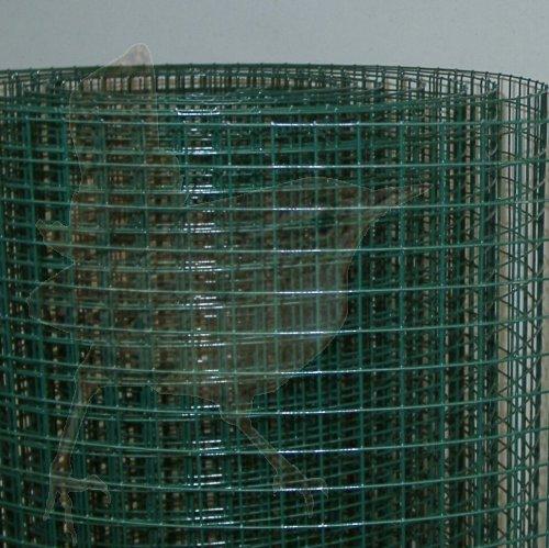 Esaplax Gitter 12 7x12 7x0 90x0500 Mm Plastifiziert Grun Esaplax