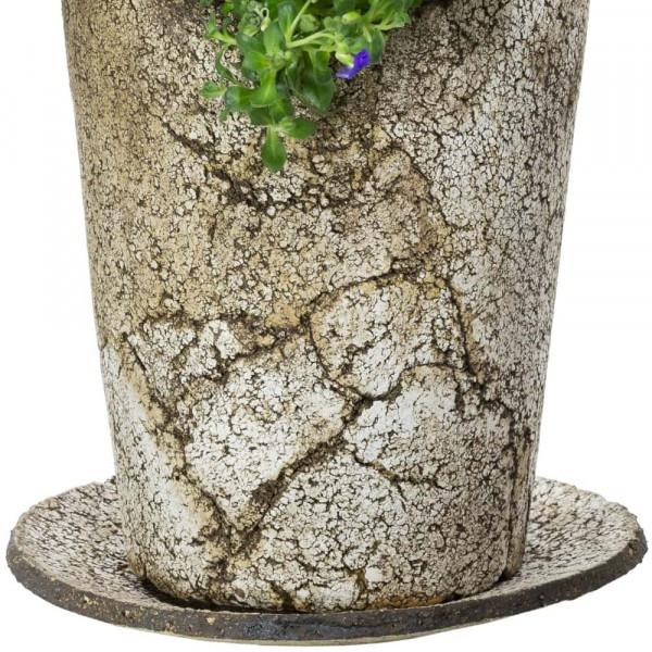 Untersetzer aus Keramik für Pflanzkübel