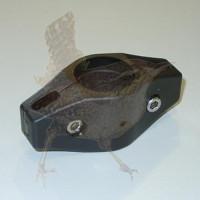 Schelle Ø 034 mm DINO Doppelschelle schwarz