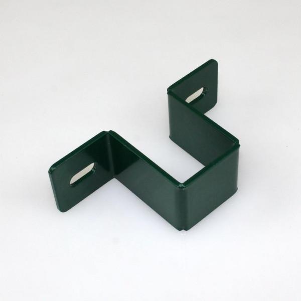 Schelle Wandschelle 60 grün beschichtet 6005
