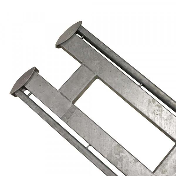 Legi Doppelpfosten RP.D fit R+K 250 mm für Steinzaun 100 cm - Mitte