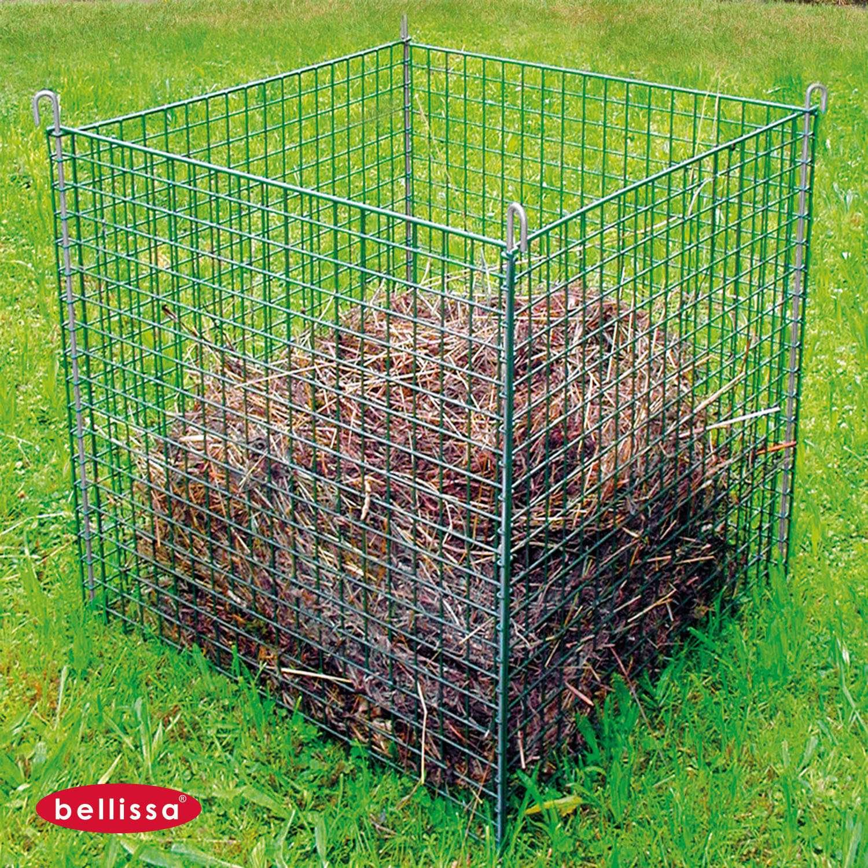 Komposter Metall 0780 X 0800 X 0780 Mm Gruen Komposter Metall 0780