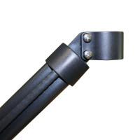 Bekaclip® Zaunhöhe 2250 mm Strebe Ø 38 mm anthrazit